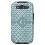 Fleur-De-Lis Custom Monogram Samsung case Samsung Galaxy S3 Covers