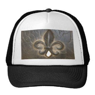 Fleur De Lis Design Hat
