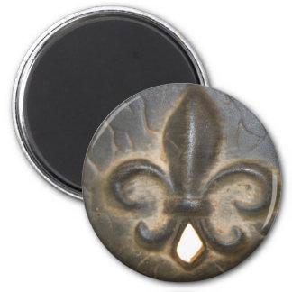 Fleur De Lis Design Magnet
