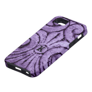Fleur de Lis Design (Purple) Case For The iPhone 5