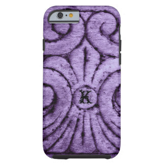 Fleur de Lis Design (Purple) Tough iPhone 6 Case