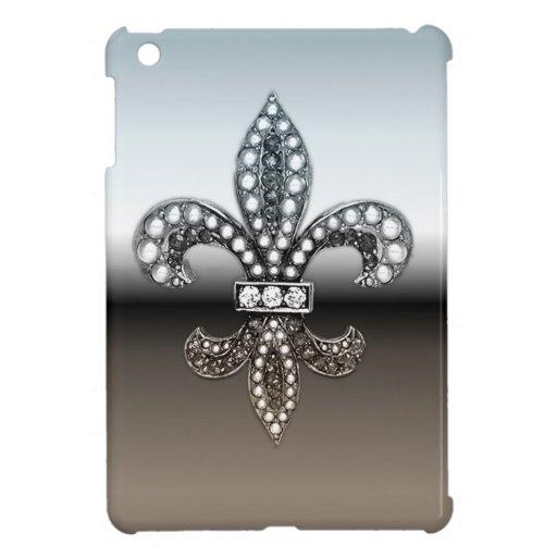 Fleur De Lis Flor New Orleans Silver Black Zazzle