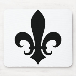 Fleur-de-Lis  Flower of the Lilly Mouse Mat