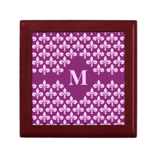 Fleur-De-Lis gift box, customize Gift Box