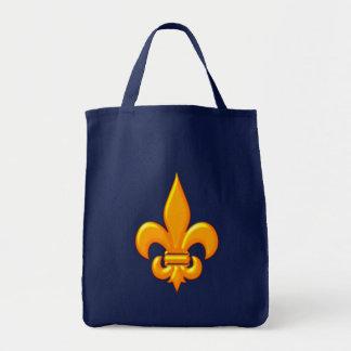 Fleur De Lis gold Tote Bag
