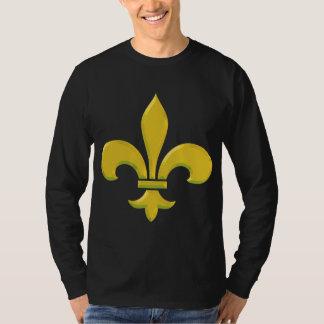 fleur-de-lis Gold Bevel T-Shirt