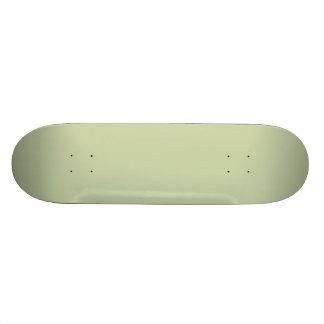 Fleur de Lis Green for French Chateau Wedding Skateboards