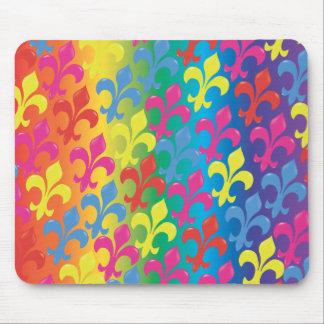 Fleur De Lis in Full Mouse Mat