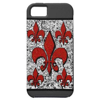 Fleur-De-Lis, iphone-5 Tough iPhone 5 Case