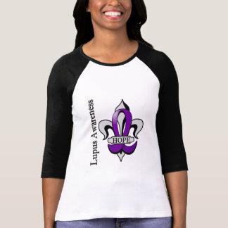 Fleur De Lis Lupus Hope Tshirt