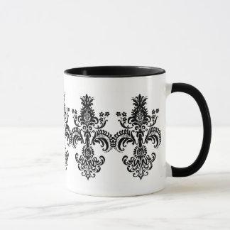 Fleur de lis Meditation Mug
