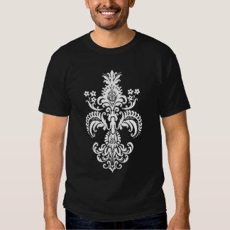 Fleur de lis Meditation Tshirts