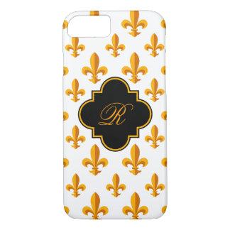 Fleur-de-lis Monogram iPhone 7 Case