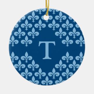 Fleur-de-Lis ornament, customize Christmas Ornament
