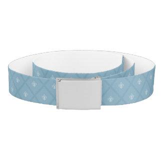 Fleur-de-lis pattern belt