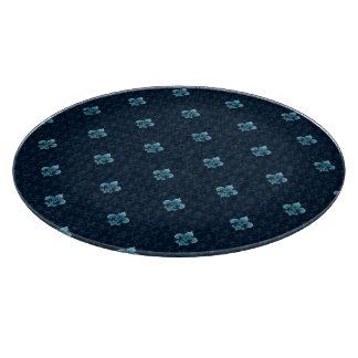 Fleur De Lis Pattern Cutting Board