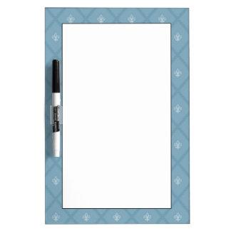 Fleur-de-lis pattern Dry-Erase whiteboards
