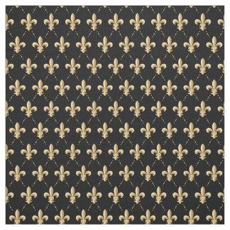Fleur De Lis Pattern Fabric