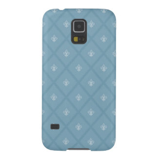 Fleur-de-lis pattern galaxy s5 covers