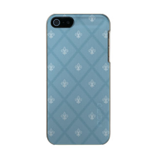 Fleur-de-lis pattern incipio feather® shine iPhone 5 case