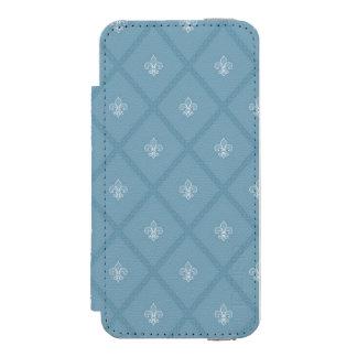 Fleur-de-lis pattern incipio watson™ iPhone 5 wallet case
