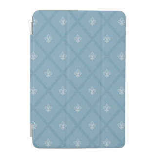Fleur-de-lis pattern iPad mini cover