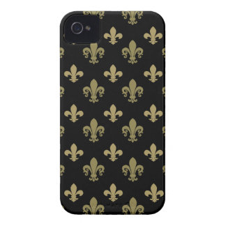 Fleur de lis pattern iPhone 4 covers