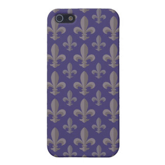 Fleur de lis pattern iPhone 5/5S covers