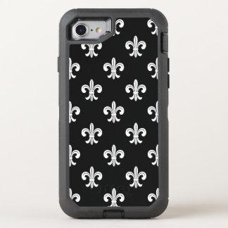 Fleur De Lis Pattern OtterBox Defender iPhone 7 Case