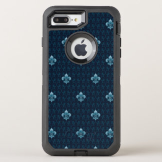 Fleur De Lis Pattern OtterBox Defender iPhone 8 Plus/7 Plus Case