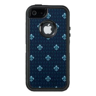 Fleur De Lis Pattern OtterBox Defender iPhone Case