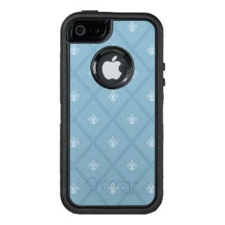 Fleur-de-lis pattern OtterBox iPhone 5/5s/SE case