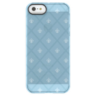 Fleur-de-lis pattern permafrost® iPhone SE/5/5s case