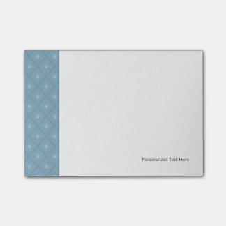 Fleur-de-lis pattern post-it notes