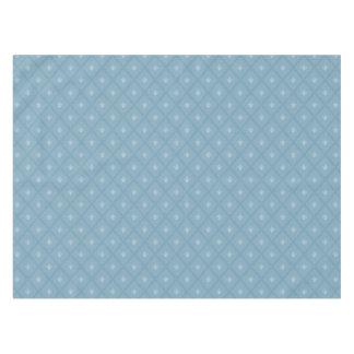 Fleur-de-lis pattern tablecloth