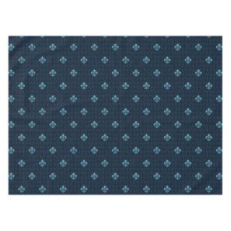 Fleur De Lis Pattern Tablecloth
