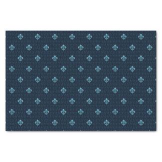 Fleur De Lis Pattern Tissue Paper