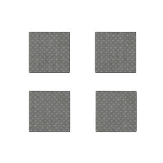 Fleur de lis Pattern + your image or text Stone Magnet