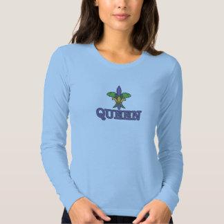 Fleur de lis Queen T Shirts