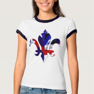 Fleur de lis Red White Blue -2 T Shirts