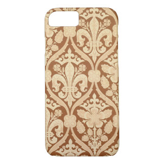 'Fleur-de-Lis', reproduction wallpaper designed by iPhone 8/7 Case