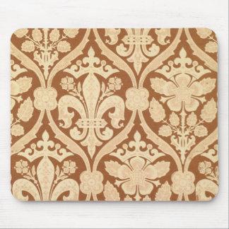 'Fleur-de-Lis', reproduction wallpaper designed by Mouse Mat