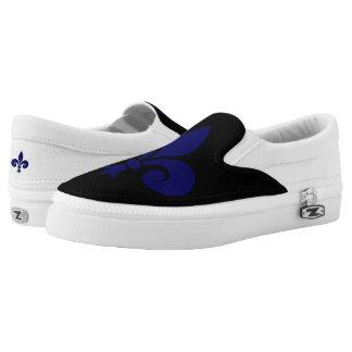 Fleur de lis Slip-On shoes