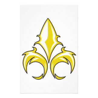 FLEUR DE LIS STATIONERY DESIGN