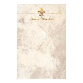Fleur-de-lis Personalized Stationery