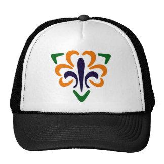 Fleur De Lis & Triangle #2 Mesh Hat