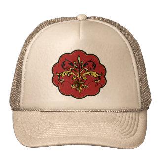Fleur de lis Xmas Cap