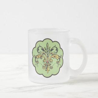 Fleur de lis Xmas Coffee Mugs
