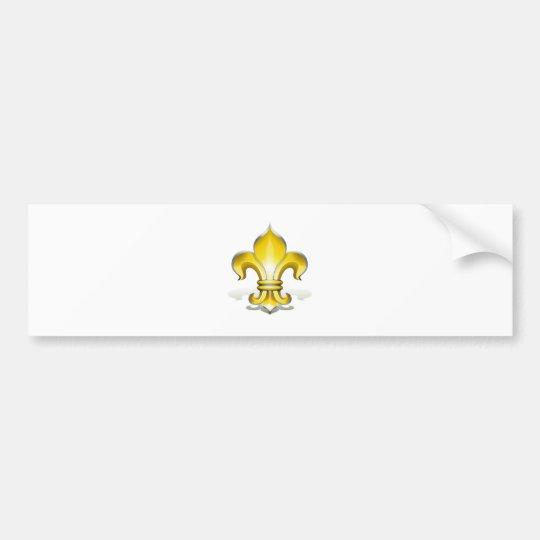 Fleur de Lys Bumper Sticker