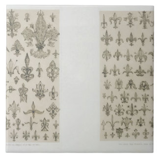 Fleur de Lys designs from every age and from all a Tile
